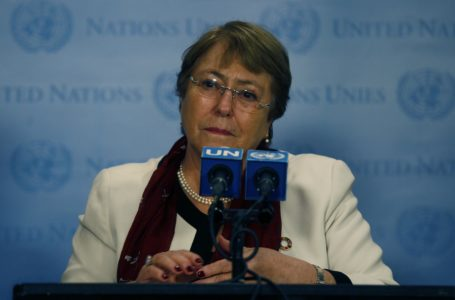 La alta comisionada de las naciones unidas para los derechos Humanos, Michelle Bachelet / Foto: Agencia UNO