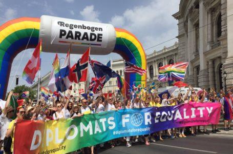 Comunidad sexodiversa, unida y orgullosa, inundó Viena / Foto: Cortesía