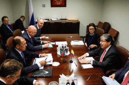 Lavrov y Holmes Trujillo tendrán a Venezuela en la agenda / Foto: Cortesía