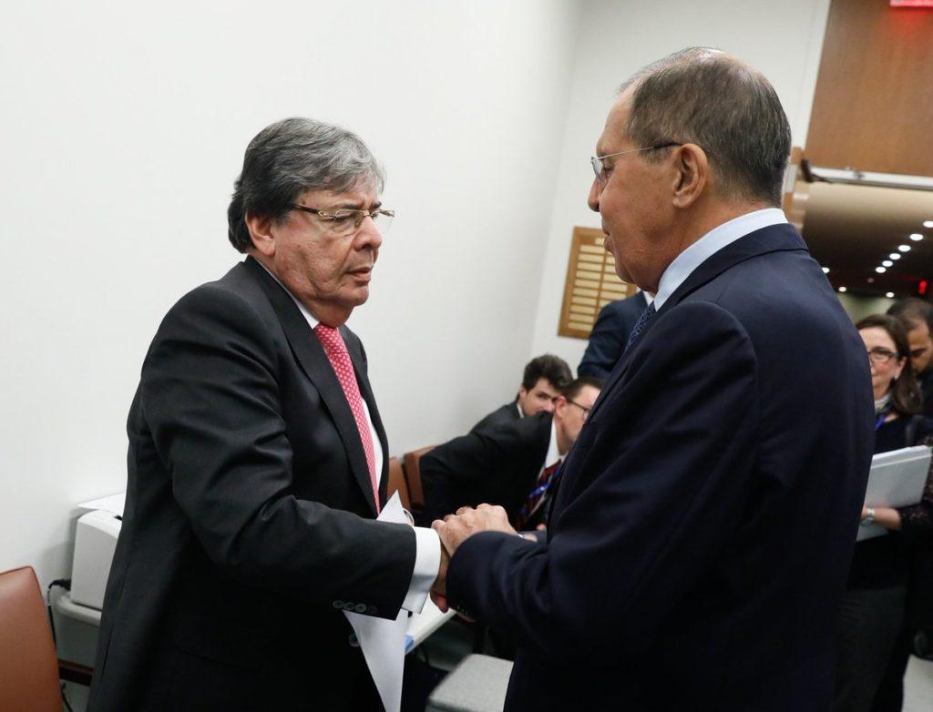 Lavrov y Holmes Trujillo tendrán a Venezuela en la agenda