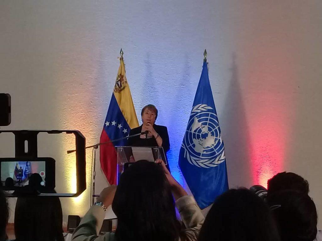 Bachelet rechazó las sanciones unilaterales contra Venezuela
