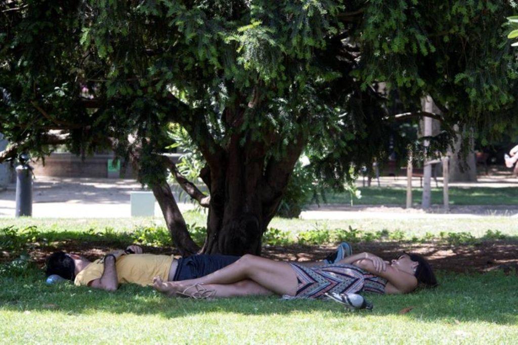 Una fuerte ola de calor deja un par de bajas en España