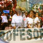 Chile: profesores deponen el paro ante amenaza del Gobierno