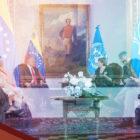 Bachelet y Cabello hablaron de Derechos Humanos