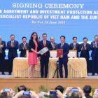 Vietnam también rubricó para comerciar libremente con Europa
