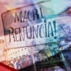 Argentinos firmes contra políticas económicas de Macri