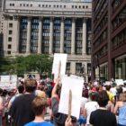 Miles en Chicago protestaron contra las «crueles e inhumanas» redadas