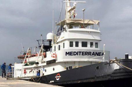 Un nuevo barco desafía las restricciones de Salvini / Foto: Cortesía