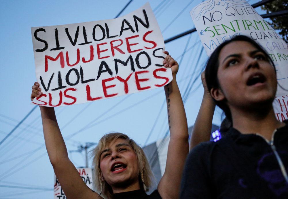 Una protesta feminista degeneró en violencia urbana