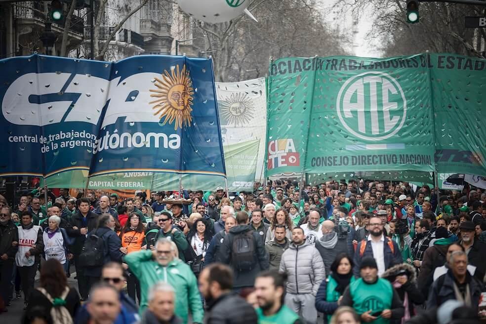 Protestas antimacristas ganan terreno en la Argentina