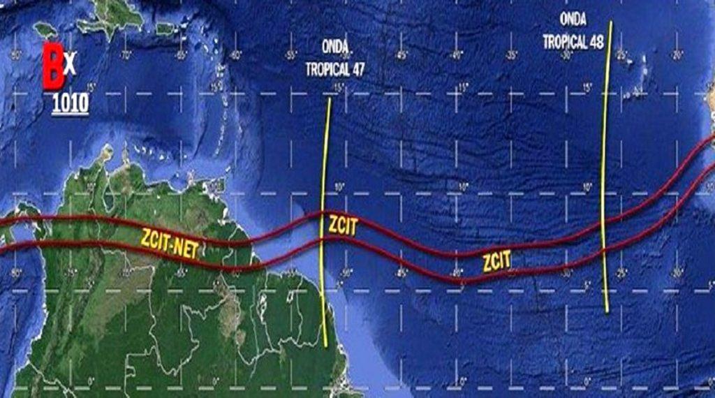 Venezuela activa sus alarmas ante el paso de una onda tropical