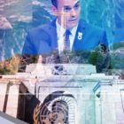 Pedro Sánchez celebró en la ONU exhumación de Franco