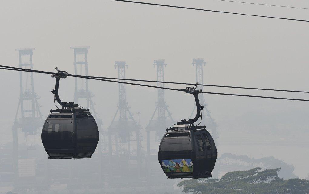 Singapur respira aires enrarecidos tras incendios de Indonesia