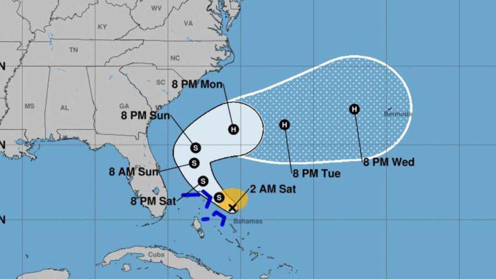 Tormenta Humberto ganará fuerza hasta mutar a huracán