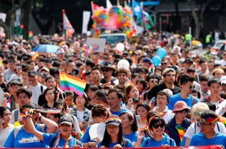 Taipei exhibe el Orgullo Gay más nutrido de Asia / Foto: EFE