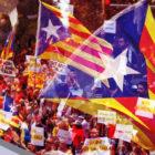 Piden autodeterminación para Cataluña y libertad para sus presos