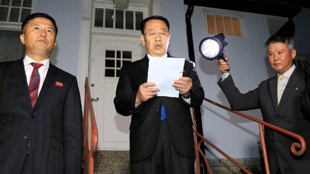 Actitud hostil de Washington pone en peligro el diálogo con Pionyang