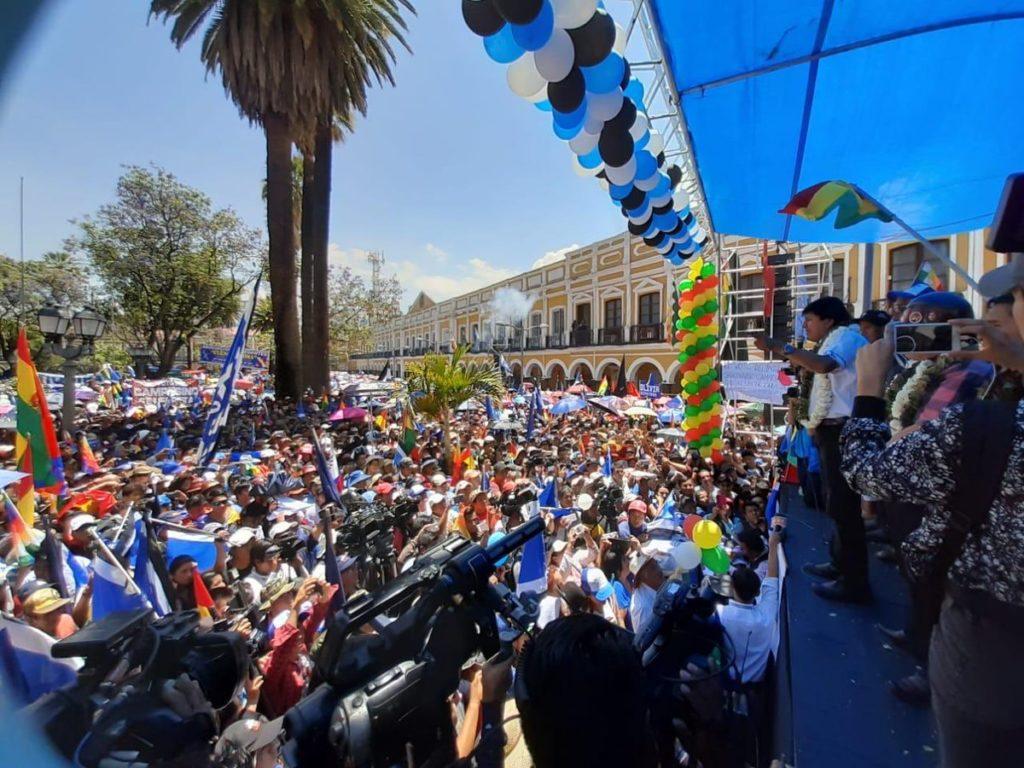 Evo Morales invita a los escépticos a auditar los votos
