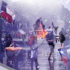 Nueva jornada incendiaria de protestas en Chile