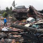 Un terremoto antecedió en Tokio los embates de Hagibis