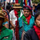 Indígenas de Colombia se suman a la protesta social