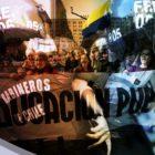 Educación pública chilena se paraliza en todo el país