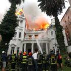 Desmanes entre protestas se ciernen sobre Santiago de Chile