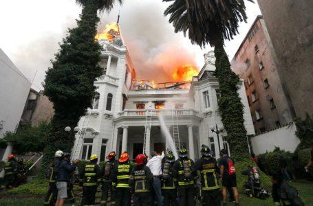 Desmanes entre protestas se ciernen sobre Santiago de Chile / Foto: Cortesía