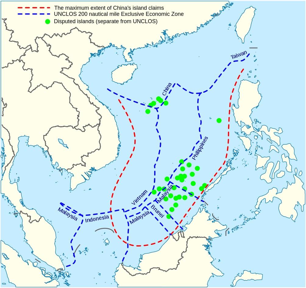 EE.UU. caldea los ánimos contra China en el mar meridional