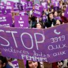 Francia salió a marchar contra la violencia machista
