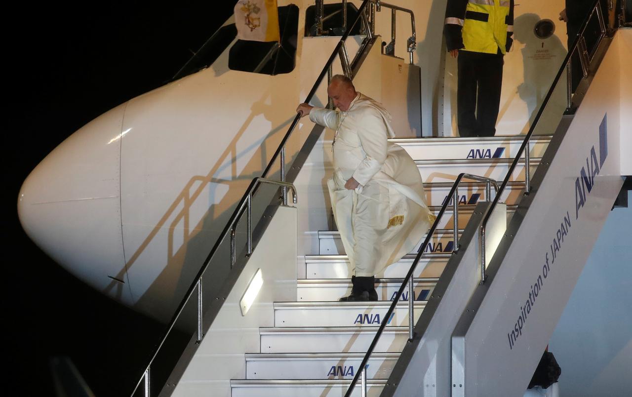 El Papa insta al desarme nuclear desde el archipiélago nipón