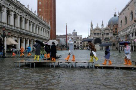 Venecia entre la calma y la alerta ante las crecidas marítimas / Foto: Europa Press