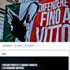 Tribunal italiano ordena a Facebook reactivar cuenta fascista