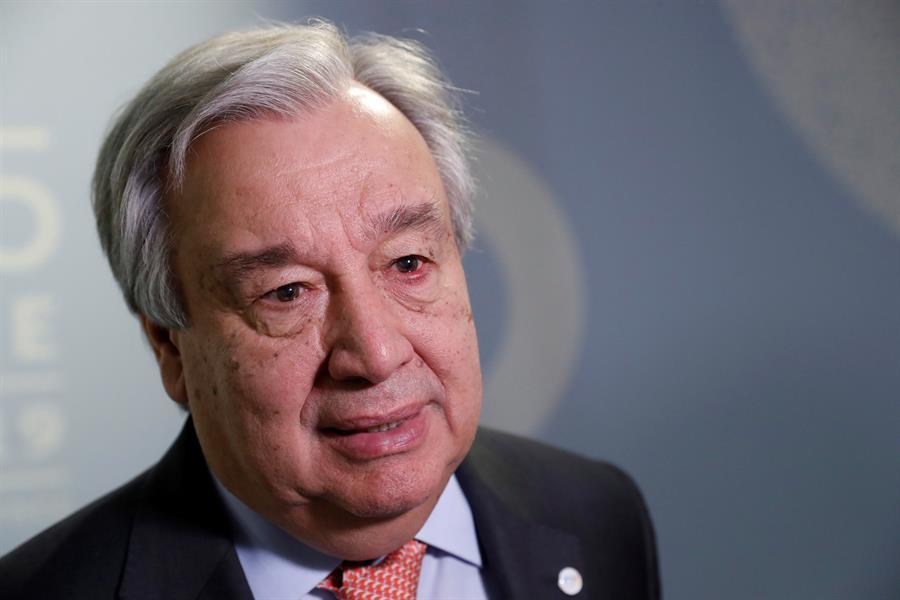 Guterres sufre la decepción de ver resultados como los de la COP25