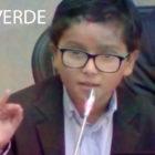 #VainaVerdeVT Un niño dicta cátedra sobre medio ambiente en Senado colombiano