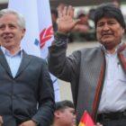 Evo Morales prepara una campaña desde tierras argentinas
