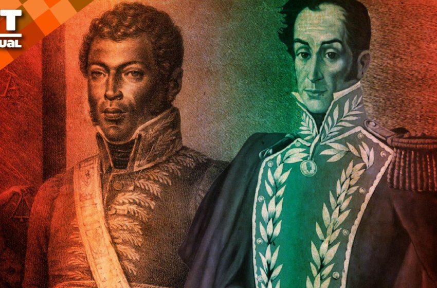 #VTalpasado Bolívar y Petión una alianza de amistad revolucionaria