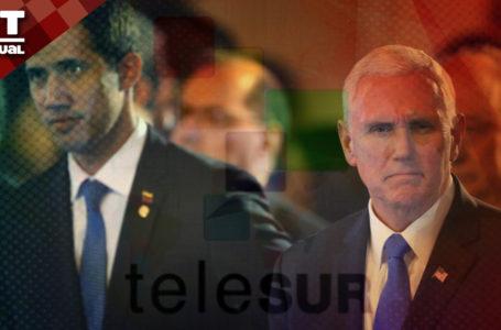 """VTAnálisis: Así sería la """"nueva Telesur"""" que proponen Guaidó y Washington / Foto: VTactual"""