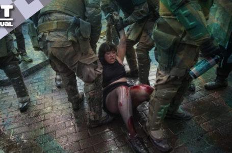 Protesta social en Chile ha encarado la represión durante tres meses / Foto: VTactual