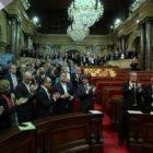 Independentistas catalanes protegidos por el fuero parlamentario