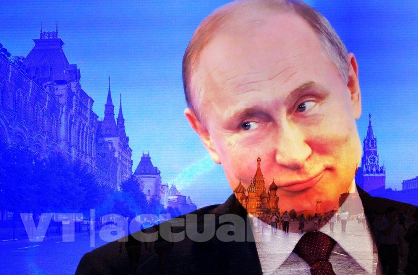 #VTnúmeros Vladimir Putin en cifras (+Video)