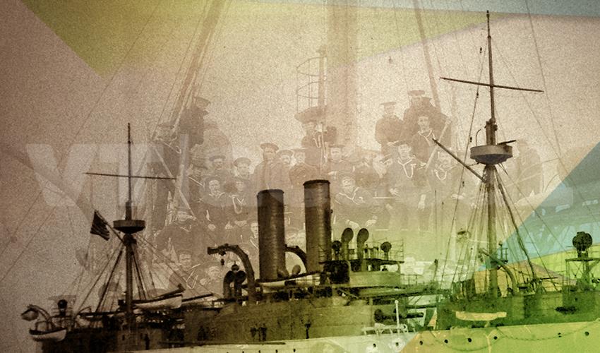#VTalPasado 1898: La sorpresiva llegada del acorazado Maine a la isla de Cuba