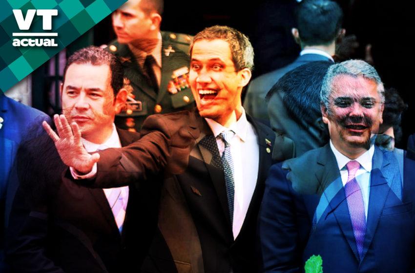 Acuerdos de la reunión secreta entre Pompeo, Duque y Guaidó  (En ese orden)