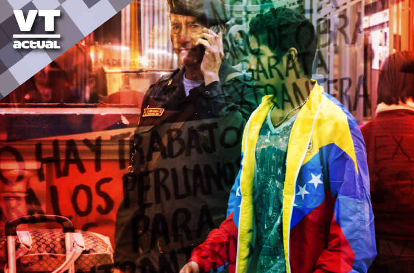 Gobierno peruano crea brigada policial «antivenezolanos»