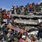 Derrumbe de edificio en obras enluta a Camboya