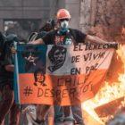 Decenas de miles en Santiago retomaron las protestas en año nuevo