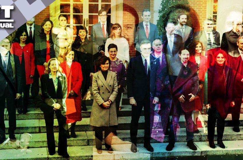 7 datos del nuevo gobierno del reino de España