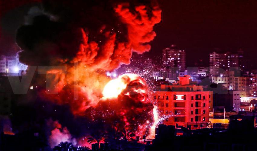 """Israel inaugura el """"Acuerdo del siglo"""" bombardeando Gaza"""
