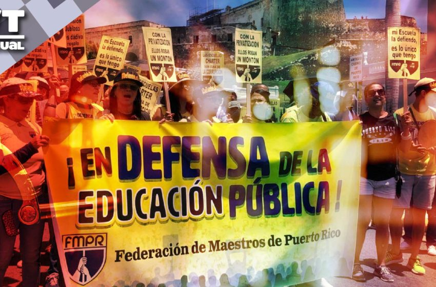 La corrupción pone en peligro a 294 mil estudiantes en Puerto Rico