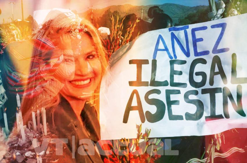 """#VTanálisis: """"Aunque no estaba en sus planes"""", Añez anunció candidatura"""